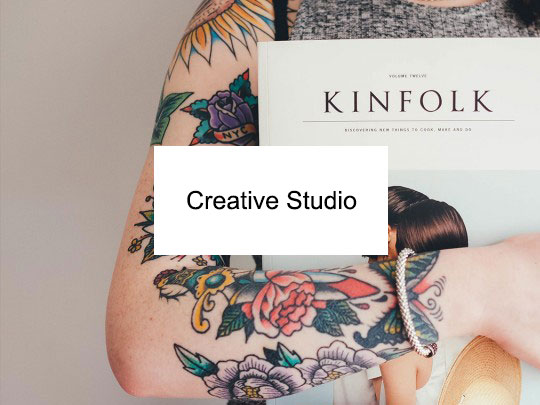 طراحی سایت Creative Studio