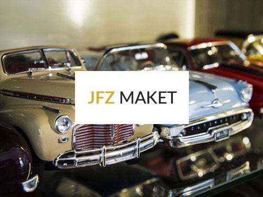 طراحی فروشگاه اینترنتی JFZ MAKET
